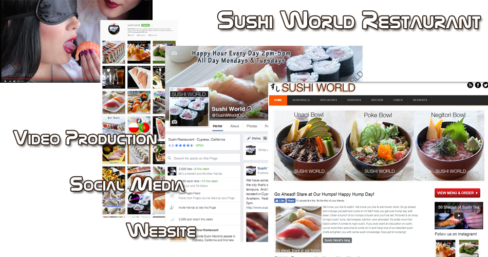 Orange County Restaurant Marketing Internet SEO Web Design OC Sushi
