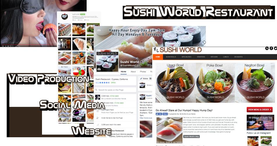 Orange County Restaurant Marketing Internet SEO Web Design OC Sushi